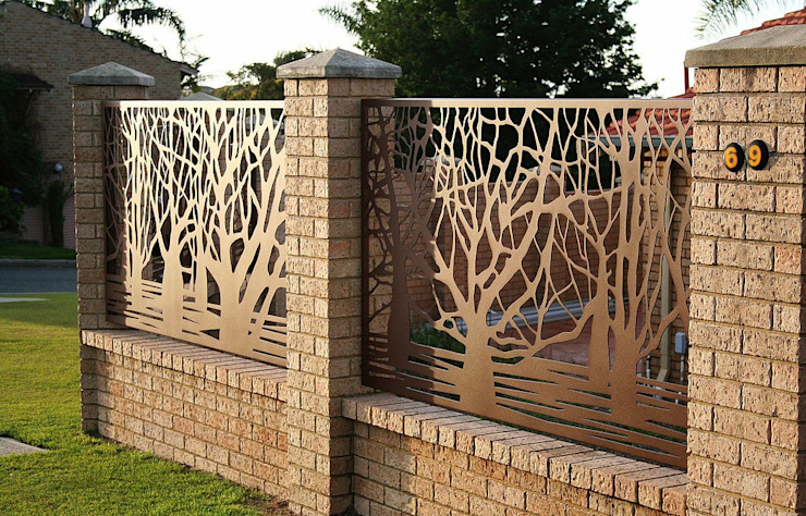 Garden by homify, Modern Iron/Steel