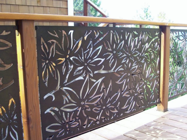 Modern style gardens by NATUREL METAL FERFORJE Modern Iron/Steel