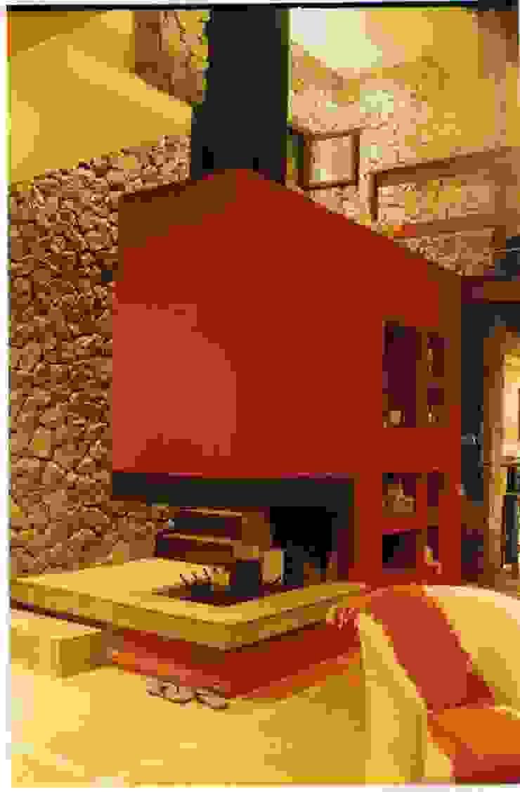 Modern Living Room by Diego Porto Arquitecto Modern