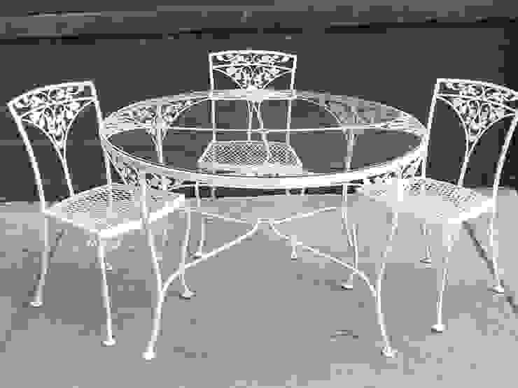 FERFORJE MASA & SANDALYE NATUREL METAL FERFORJE Klasik Demir/Çelik