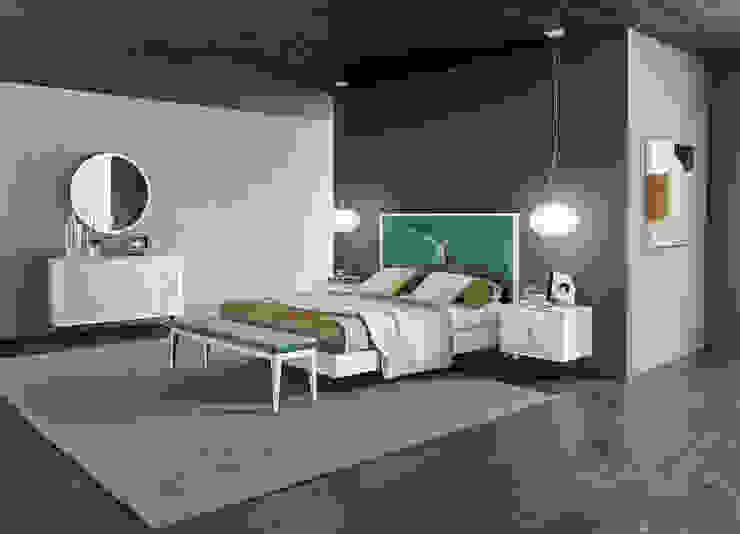 Mobiliário de quarto Bedroom furniture www.intense-mobiliario.com ETRANA PMT por Intense mobiliário e interiores; Moderno