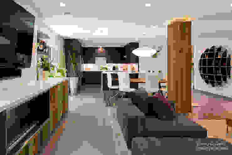 Projekty,  Salon zaprojektowane przez Chibi Moku,