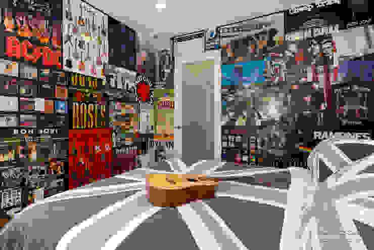 Projekty,  Sypialnia zaprojektowane przez Chibi Moku,