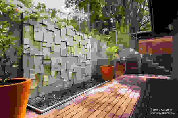 Vườn phong cách hiện đại bởi Chibi Moku Hiện đại Bê tông