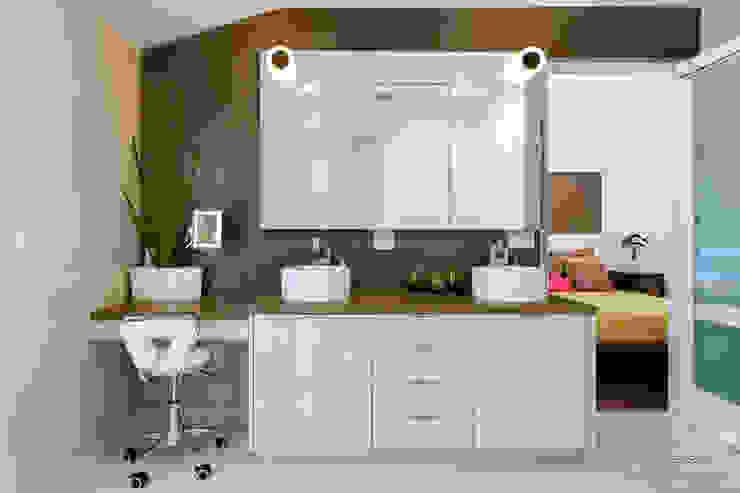 Projekty,  Łazienka zaprojektowane przez Chibi Moku,