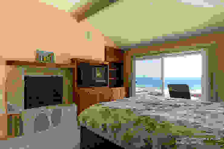 Dormitorios modernos: Ideas, imágenes y decoración de Chibi Moku Moderno Hormigón