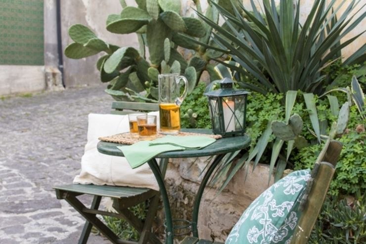 Relooking per un dammuso nella Val di Noto. Boite Maison Giardino in stile mediterraneo
