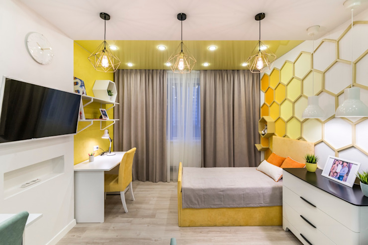 Modern nursery/kids room by Школа Ремонта Modern