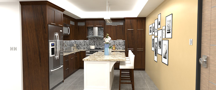 Modern kitchen by Atahualpa 3D Modern