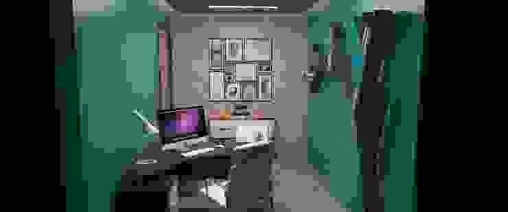 Oficina tipo Estudio Oficinas de estilo moderno de Atahualpa 3D Moderno