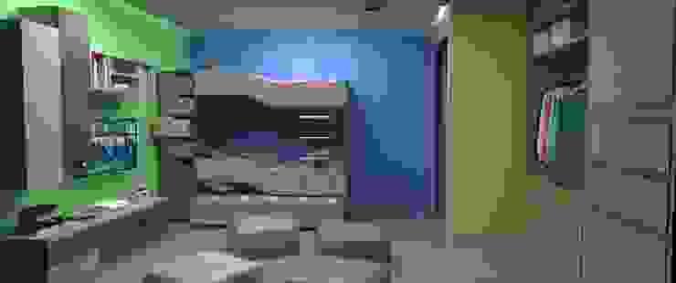 Habitacion Infantil Cuartos infantiles de estilo moderno de Atahualpa 3D Moderno