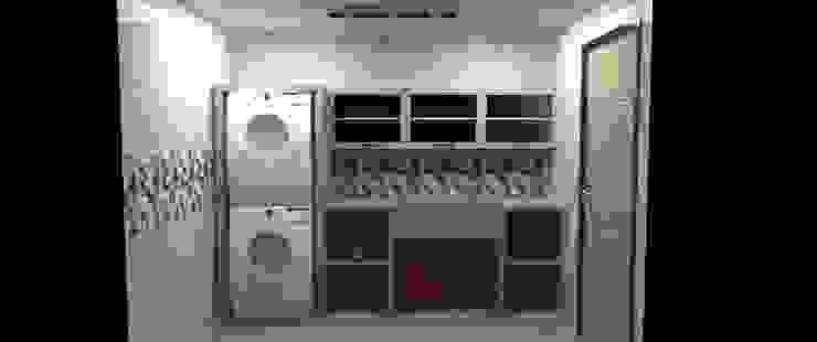 Cuarto de Limpieza y Servicios Anexos de estilo moderno de Atahualpa 3D Moderno