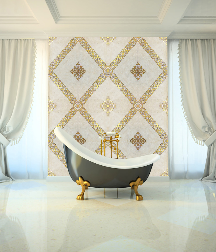 Decorative Tiles Modern Bathroom by Elalux Tile Modern Marble