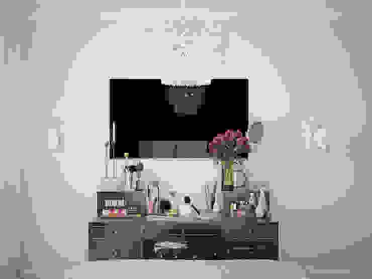 Квартира в стиле современной классики, 62 кв.м. Спальня в классическом стиле от Студия дизайна интерьера Маши Марченко Классический