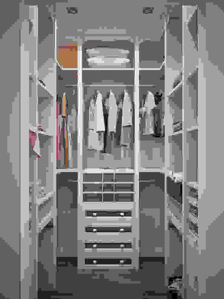 Classic style dressing room by Студия дизайна интерьера Маши Марченко Classic
