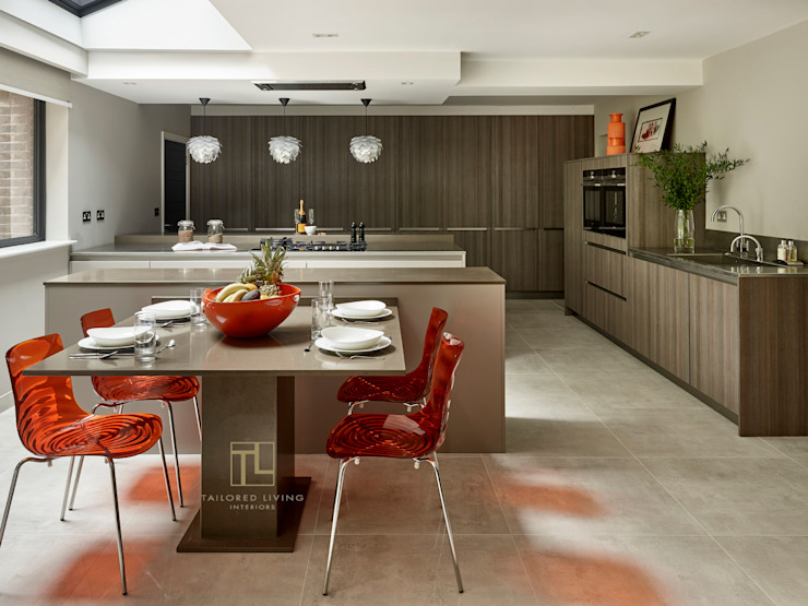 German kitchen in a London home Tailored Living Interiors Modern kitchen