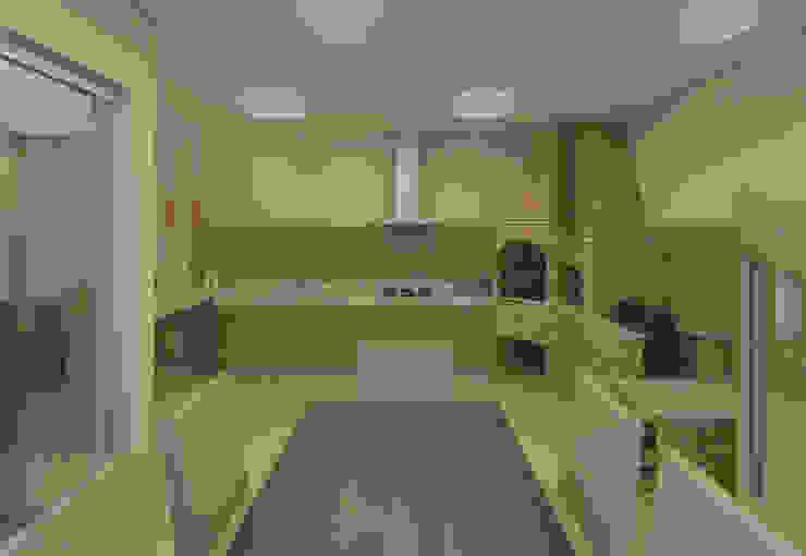 Filipe Castro Arquitetura | Design Minimalist kitchen Wood Beige