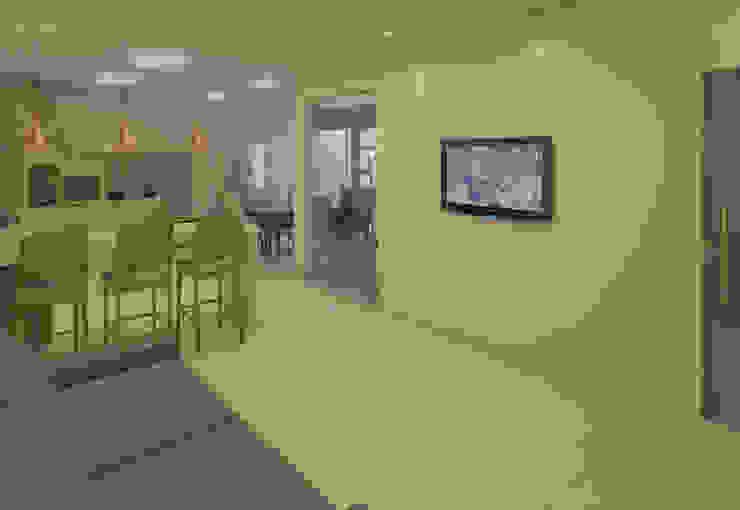 Filipe Castro Arquitetura | Design Minimalist living room Ceramic Black