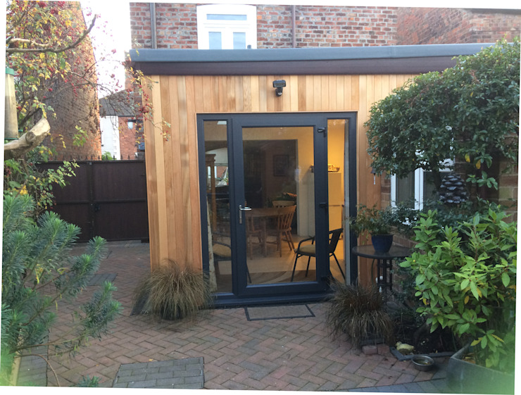 Timber Frame Extension Boston Lincolnshire: modern  by JMAD Architecture (previously known as Jenny McIntee Architectural Design), Modern