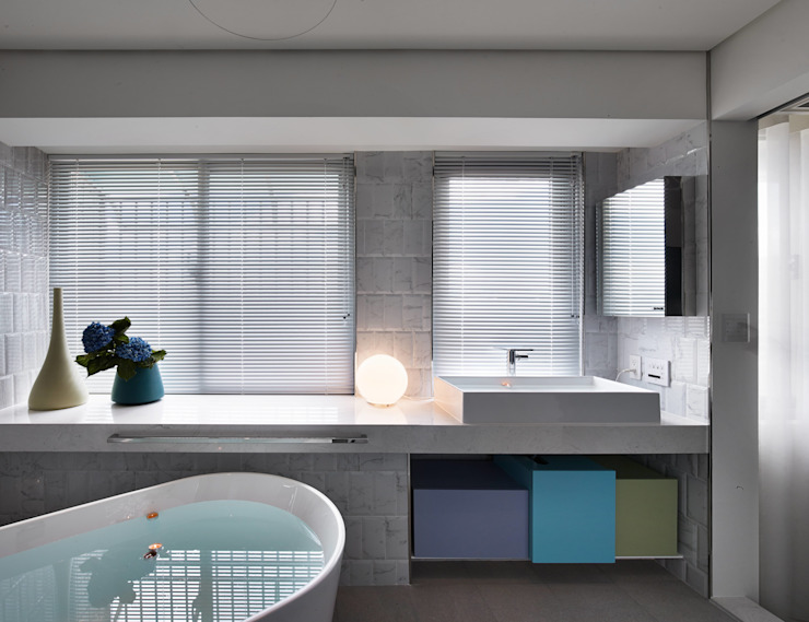 水相設計 Waterfrom Design Minimalist style bathrooms