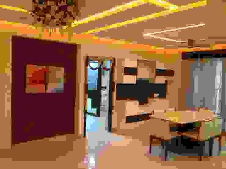 507 meenakshi Modern dining room by KEYSTONE DESIGN STUDIOS Modern