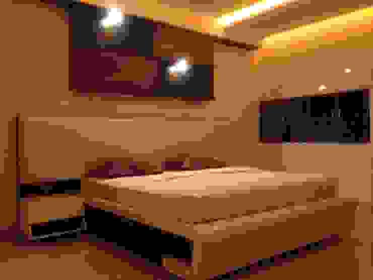 507 meenakshi Modern style bedroom by KEYSTONE DESIGN STUDIOS Modern
