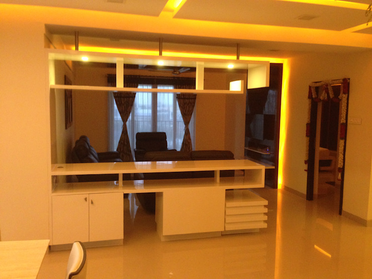 507 meenakshi Modern walls & floors by KEYSTONE DESIGN STUDIOS Modern