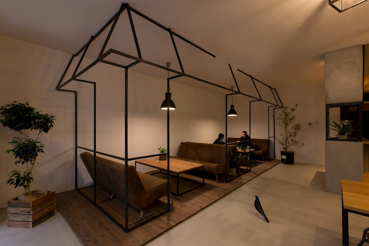Comedores de estilo  por ALTS DESIGN OFFICE, Rural Concreto