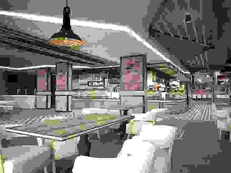 Sivas / amade restaurant cafe Kırsal Yemek Odası Murat Aksel Architecture Kırsal/Country Demir/Çelik
