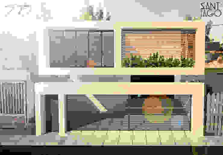 Taller de Torno Estudios y despachos minimalistas de SANT1AGO arquitectura y diseño Minimalista Metal