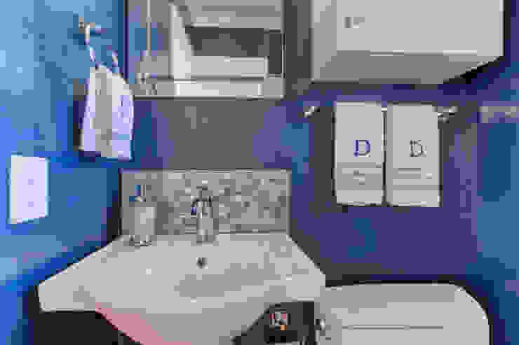 Broadway Estates Kitchen and Powder Room Classic style bathroom by Studio Design LLC Classic