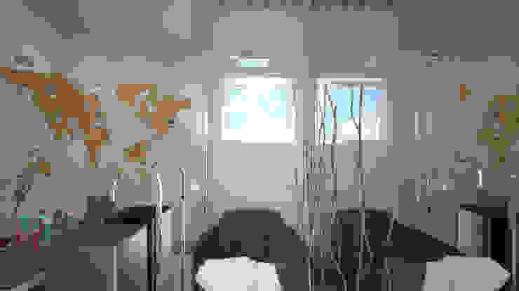 Concurso Estudos Deca Banheiros ecléticos por KC ARQUITETURA urbanismo e design Eclético