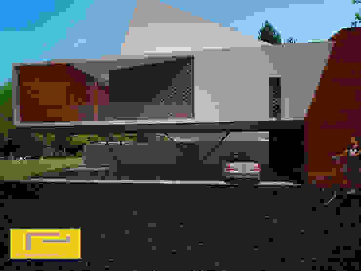 Casa Bosques Casas modernas de reich_arquitectos Moderno
