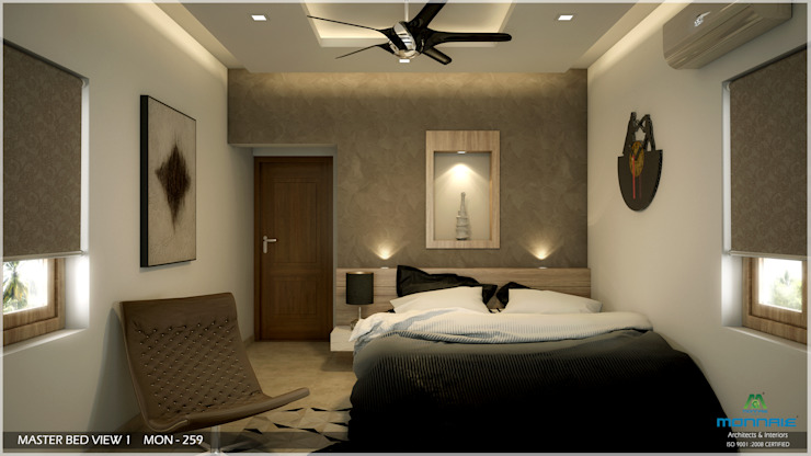 Modern Contemporary Modern style bedroom by Monnaie Architects & Interiors Modern
