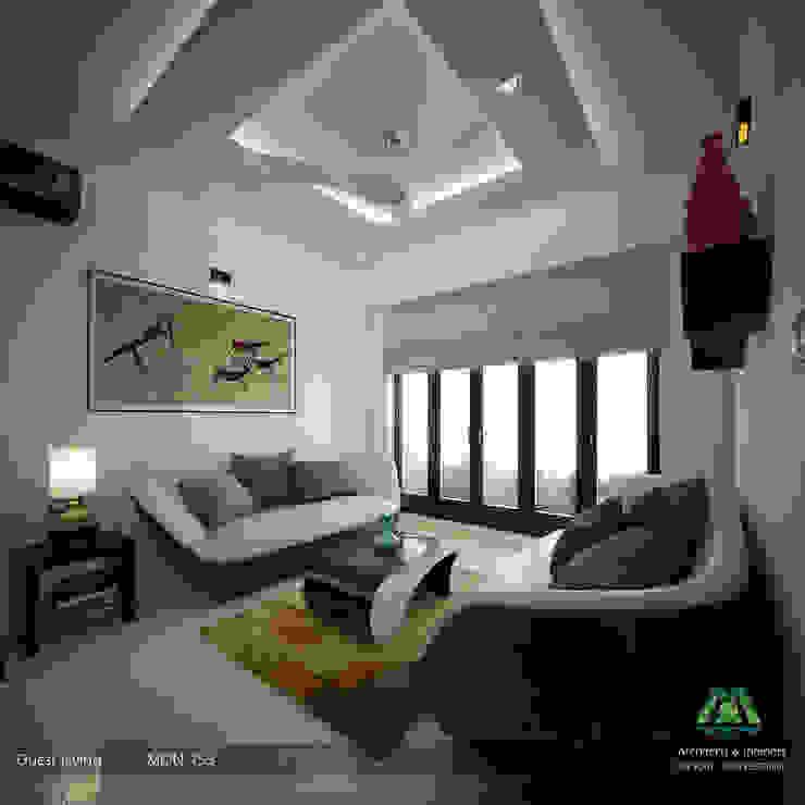 Fabulous Contemporary Interior Design:  Living room by Premdas Krishna