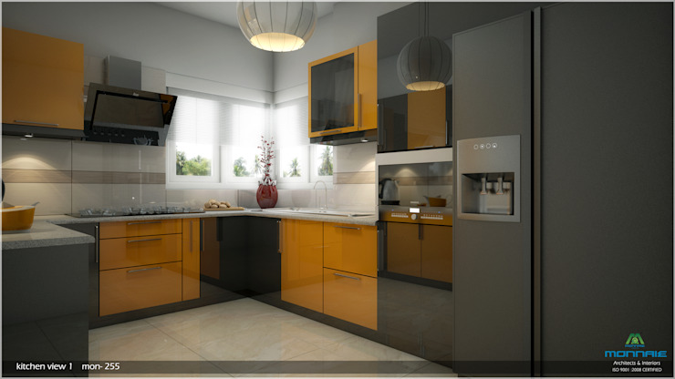 Interiors in Mixed Style... Modern kitchen by Premdas Krishna Modern