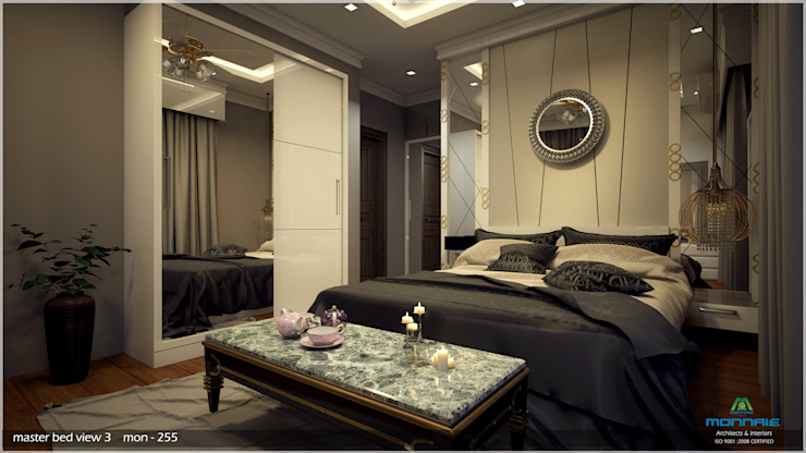 Interiors in Mixed Style… Modern style bedroom by Premdas Krishna Modern