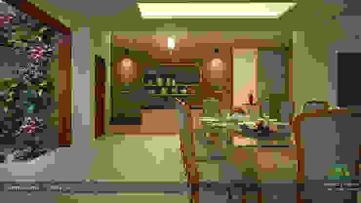 Interiors with Ultra Modern Designs Modern dining room by Premdas Krishna Modern