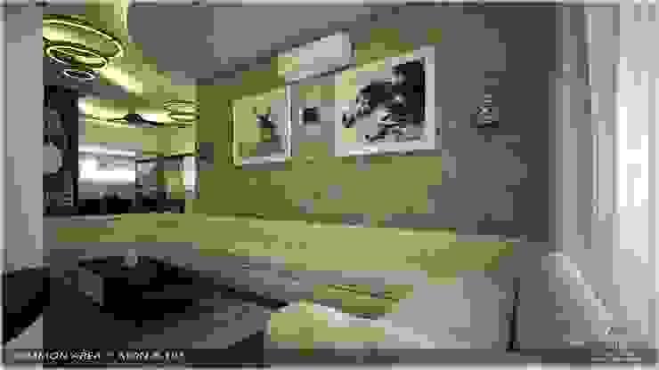 Modern Contemporary Modern living room by Premdas Krishna Modern