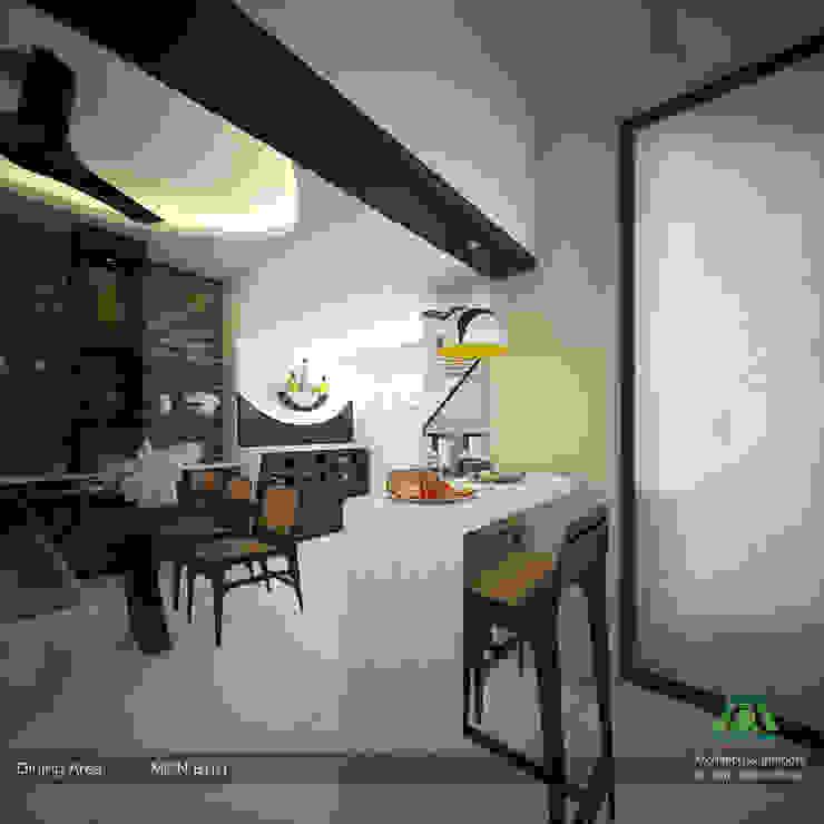Modern Contemporary Premdas Krishna Modern dining room