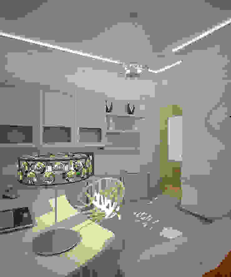 by Студия дизайна интерьера 'Золотое сечение' Eclectic Ceramic