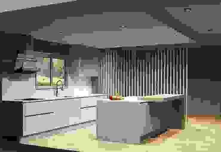 Cozinhas Cozinhas modernas por Amplitude - Mobiliário lda Moderno