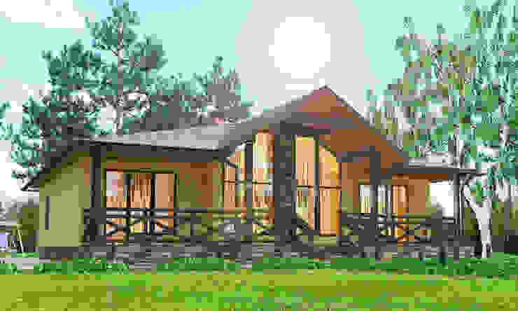 Домик 155 кв.м.: Дома в . Автор – Садовникова Наталья Евгеньевна