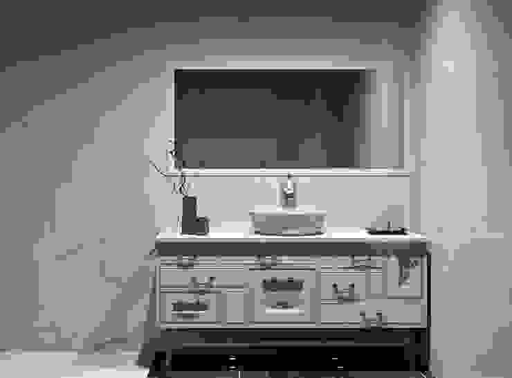 movel de banho Casas de banho clássicas por Amplitude - Mobiliário lda Clássico