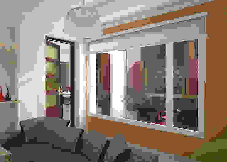 Reforma de vivienda unifamiliar en Pigüé Jardines de invierno modernos de Proyectos y Planos Online Moderno