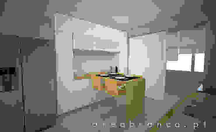 Cozinha Depois por Areabranca Moderno