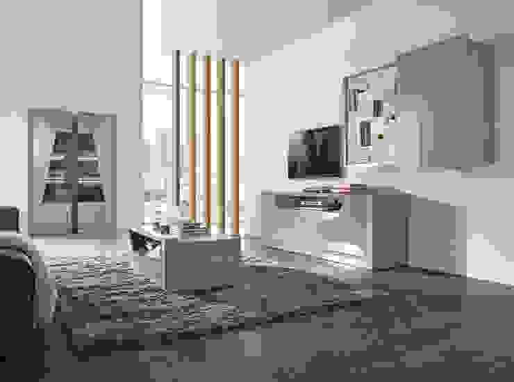 Salas de estar Living rooms www.intense-mobiliario.com TNAMAID por Intense mobiliário e interiores; Moderno