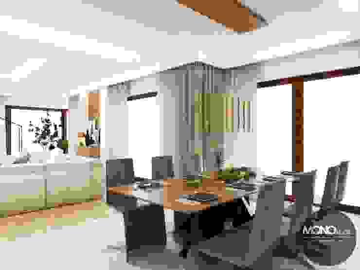 Modern dining room by MONOstudio Modern