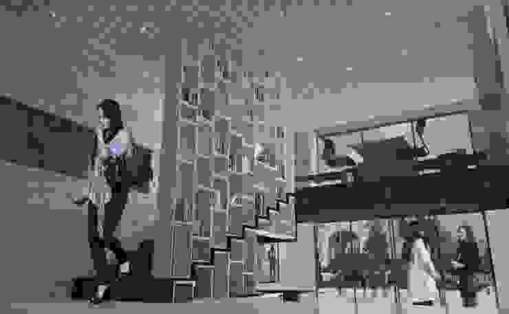 Estrategia del proyecto Estudios y despachos modernos de Arquitectos M253 Moderno