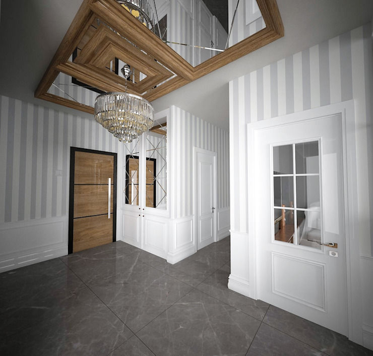 Murat Aksel Architecture Interior landscaping Wood White